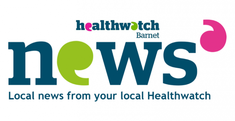 Newsletter with Healthwatch logo